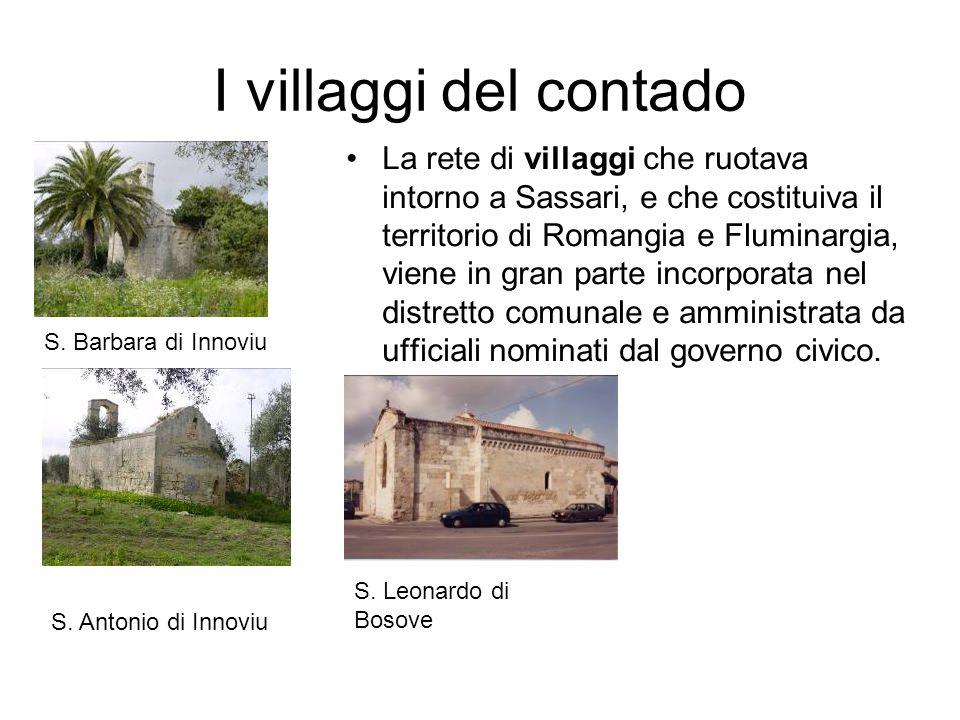 I villaggi del contado