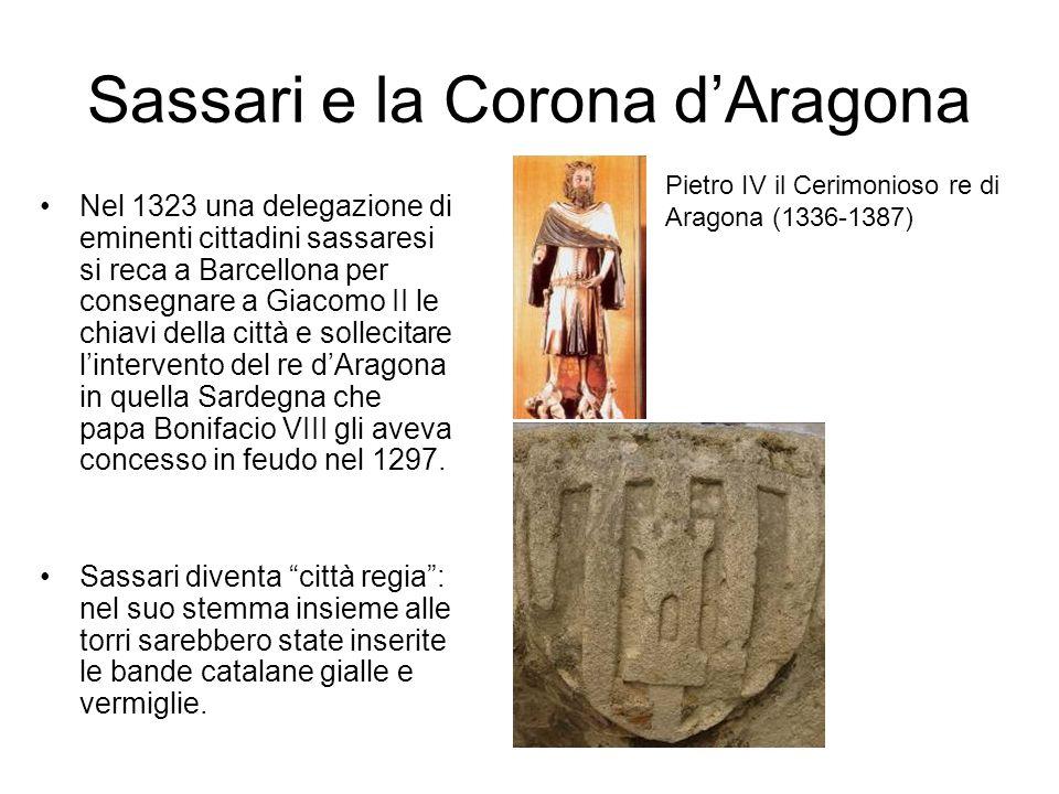 Sassari e la Corona d'Aragona