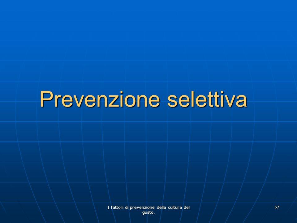Prevenzione selettiva