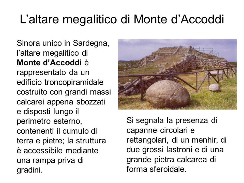 L'altare megalitico di Monte d'Accoddi