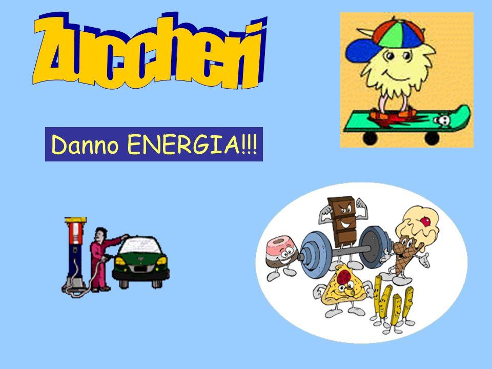 Zuccheri Danno ENERGIA!!!