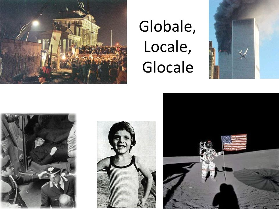 Globale, Locale, Glocale