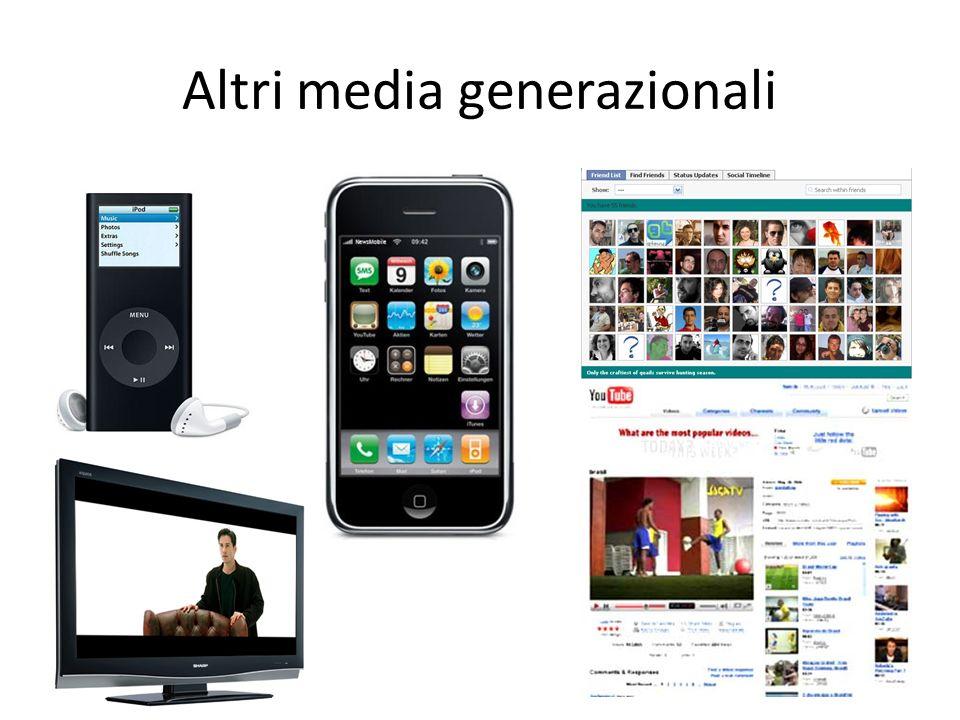 Altri media generazionali