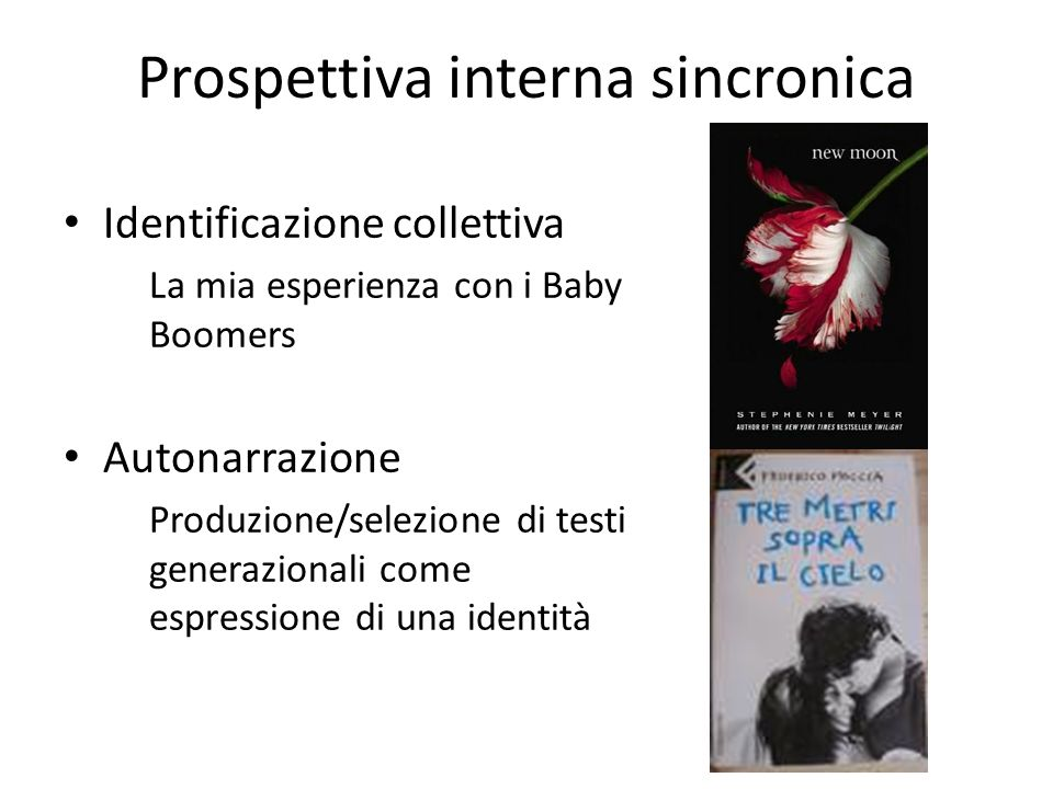 Prospettiva interna sincronica