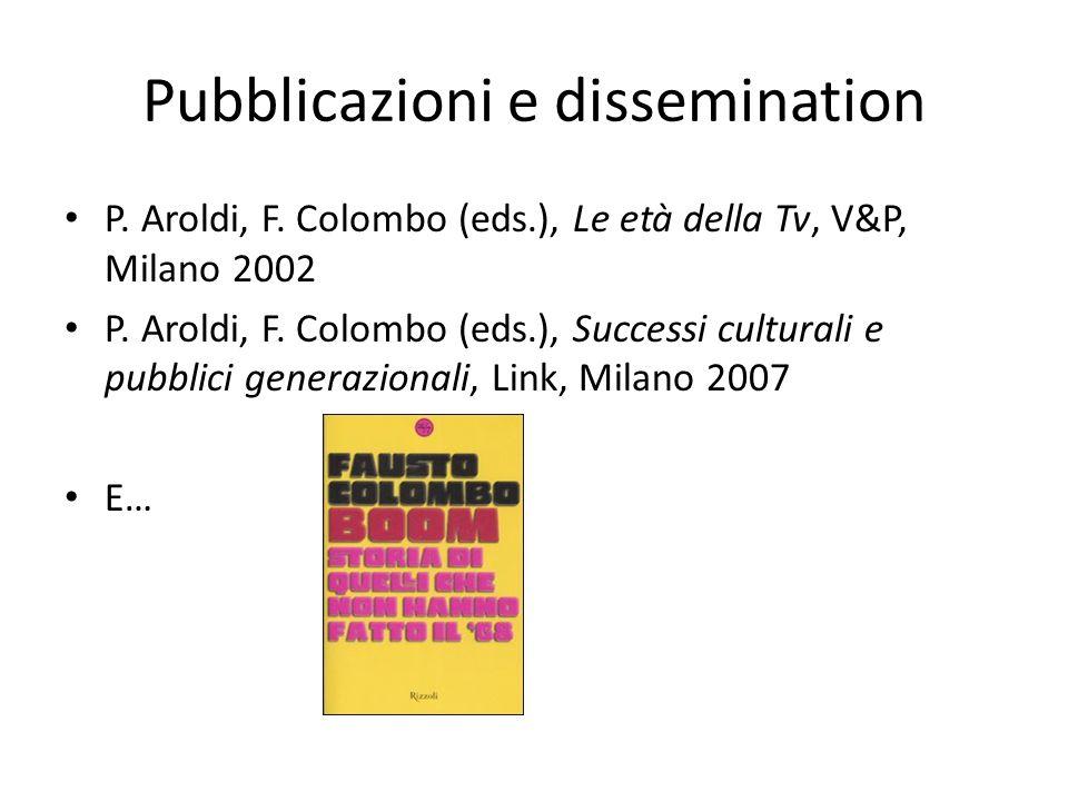Pubblicazioni e dissemination
