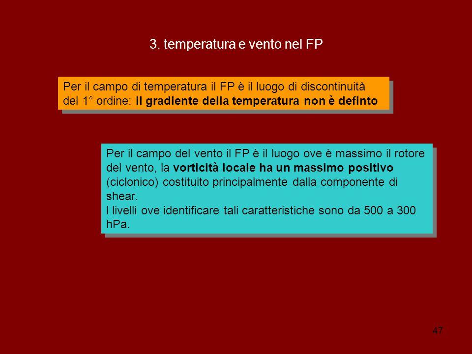 3. temperatura e vento nel FP