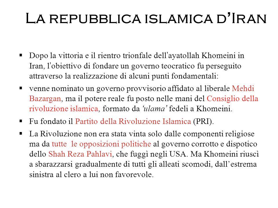 La repubblica islamica d'Iran