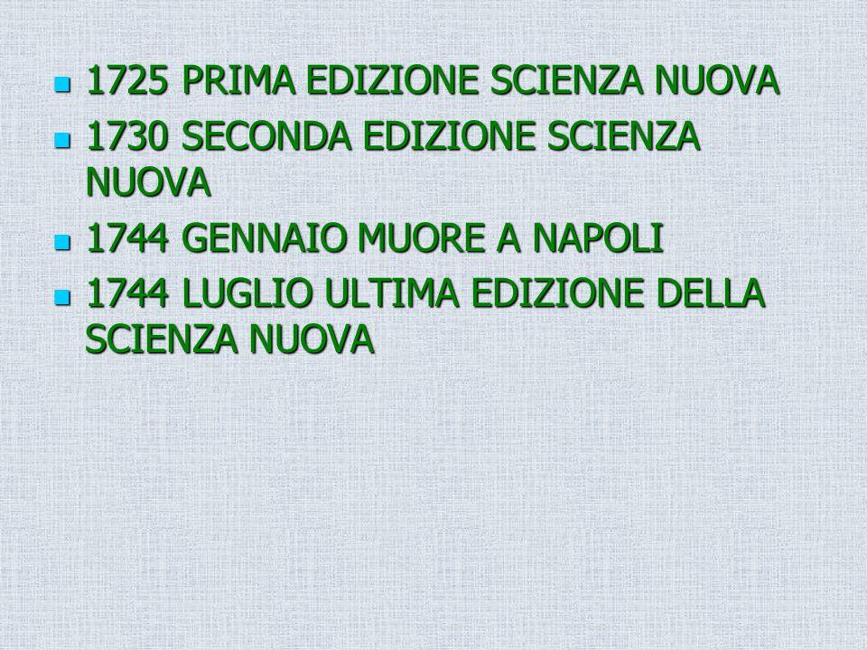 1725 PRIMA EDIZIONE SCIENZA NUOVA