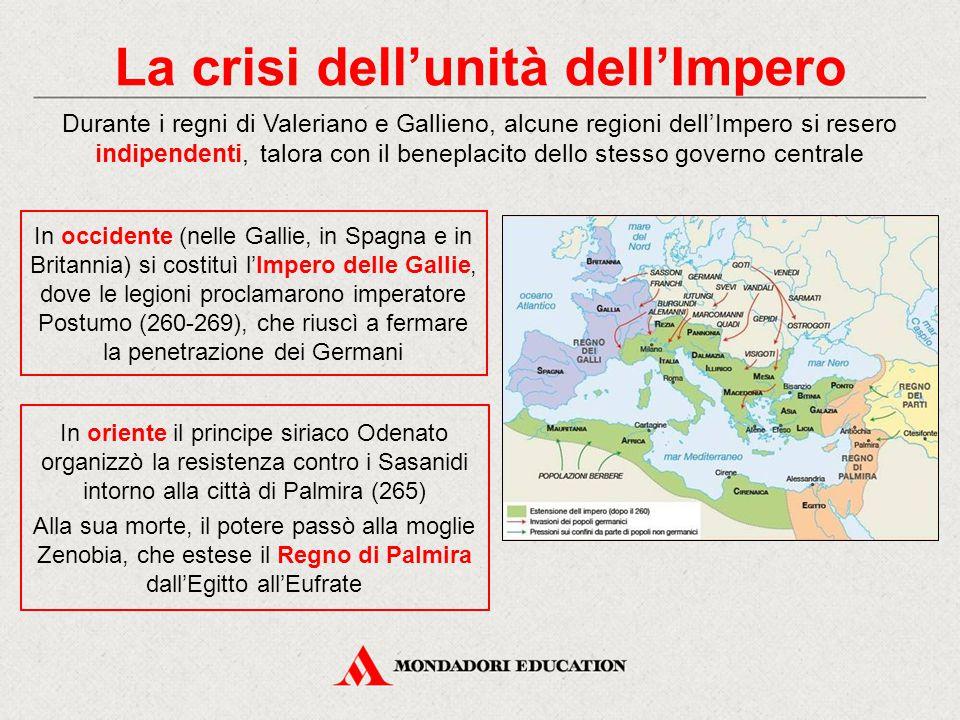 La crisi dell'unità dell'Impero