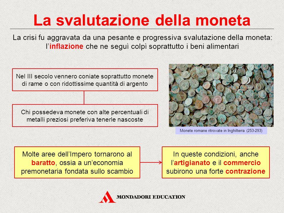 La svalutazione della moneta