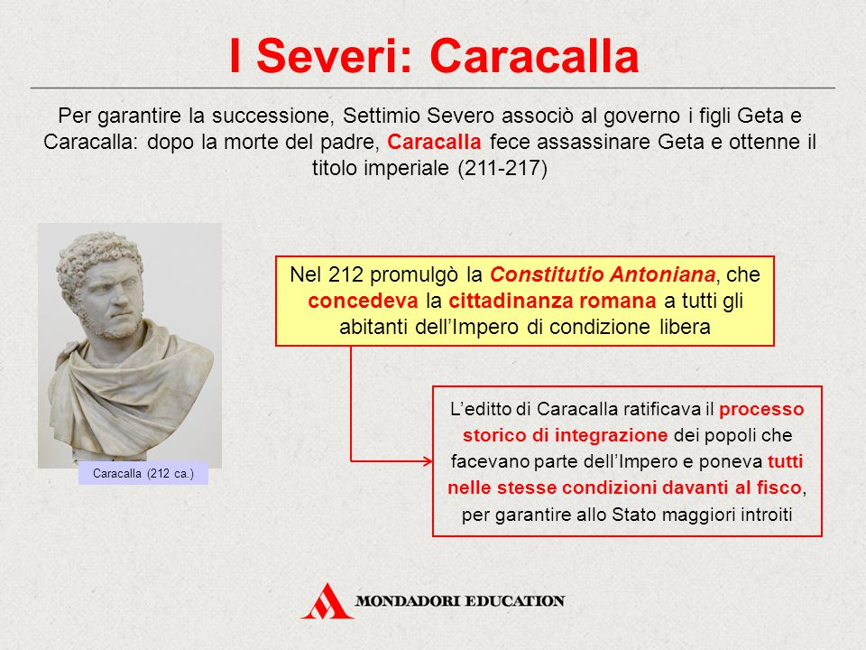 I Severi: Caracalla