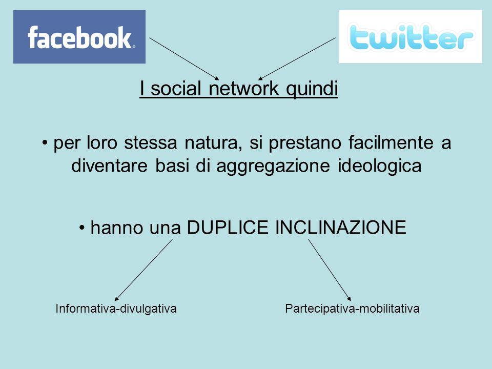 I social network quindi