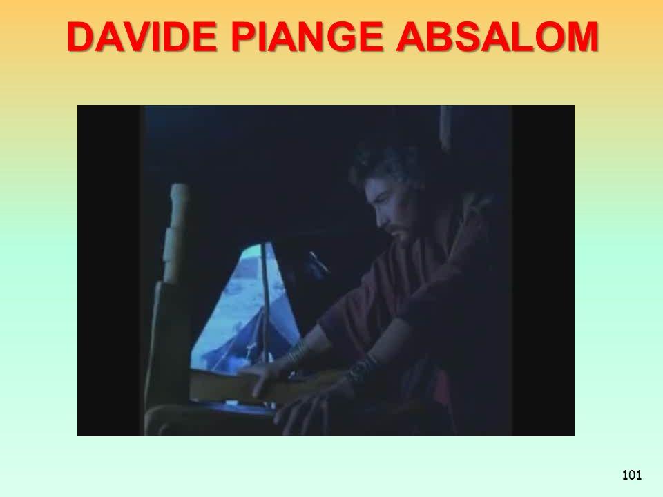 DAVIDE PIANGE ABSALOM