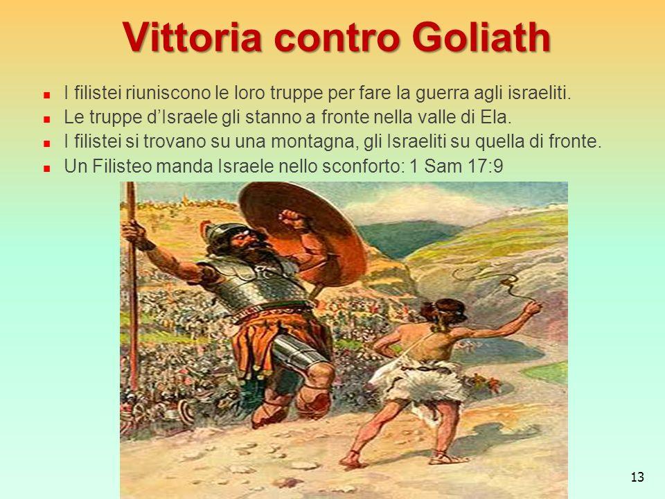 Vittoria contro Goliath
