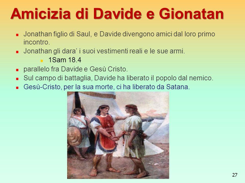 Amicizia di Davide e Gionatan