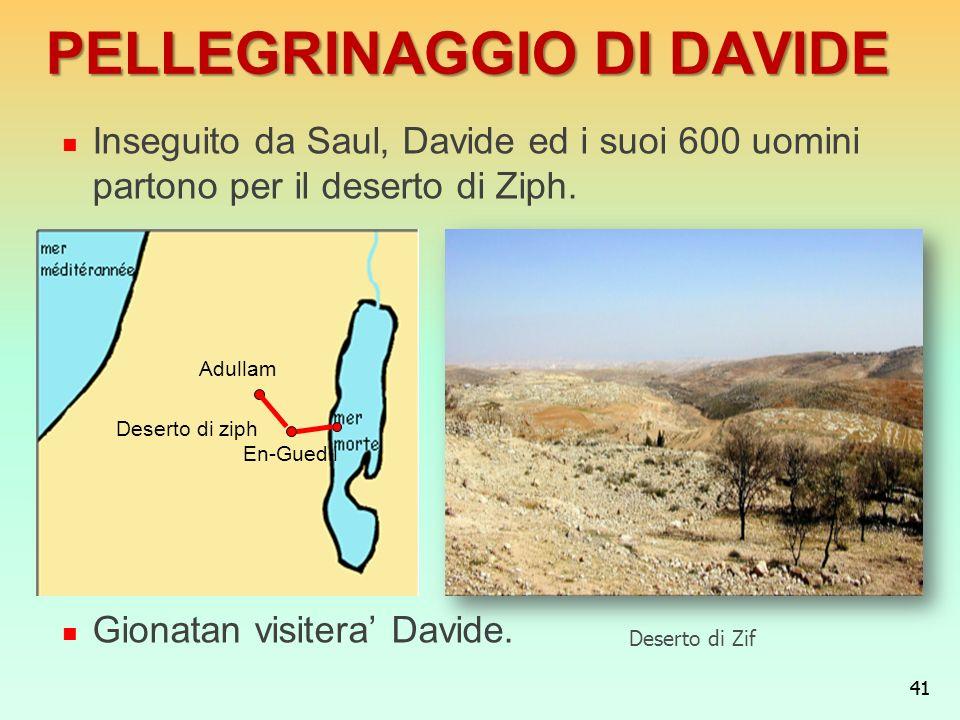 PELLEGRINAGGIO DI DAVIDE