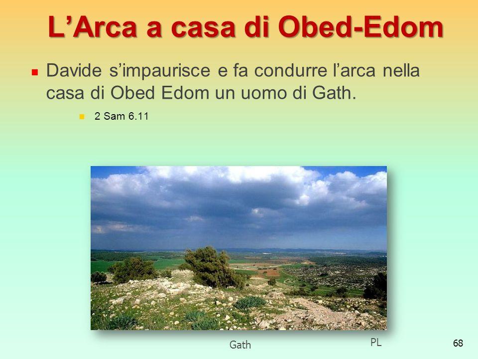 L'Arca a casa di Obed-Edom