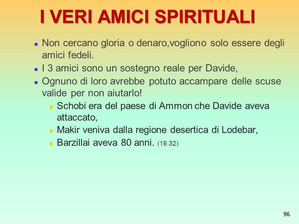 I VERI AMICI SPIRITUALI