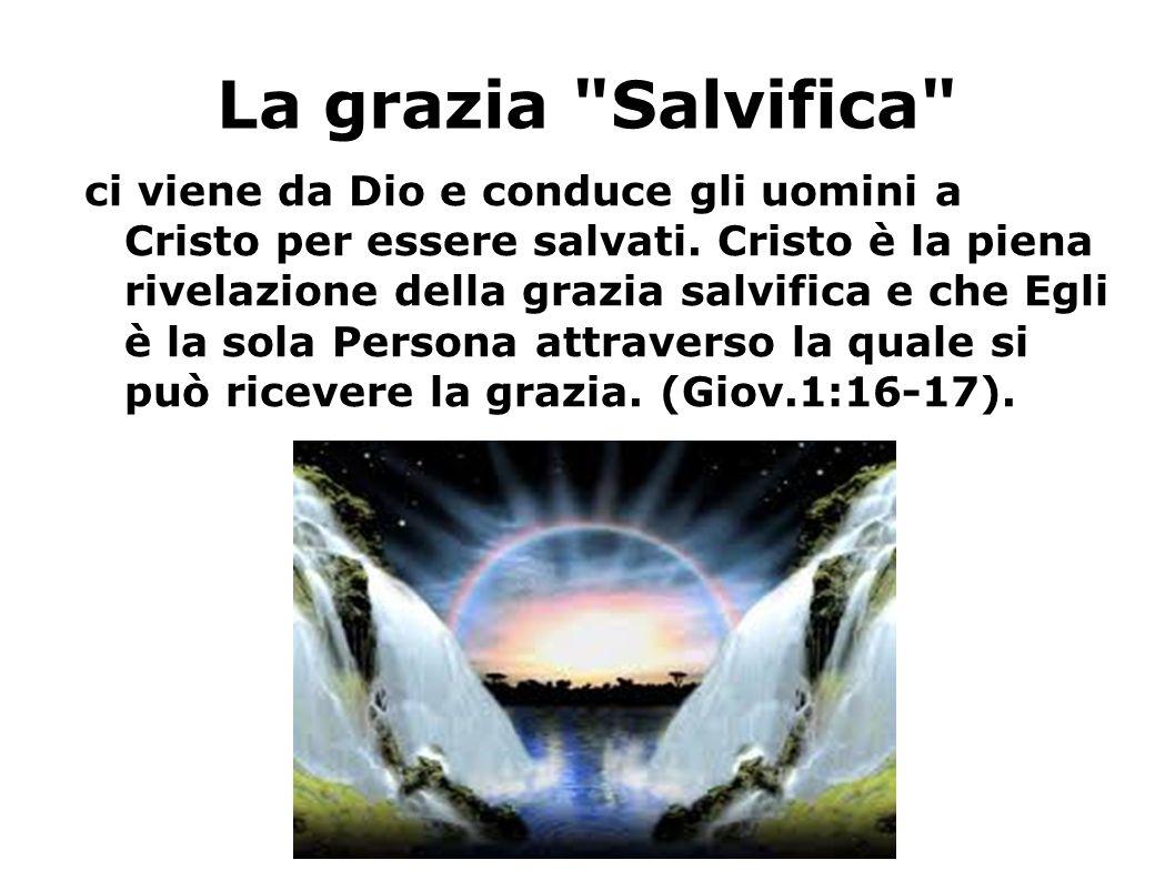La grazia Salvifica