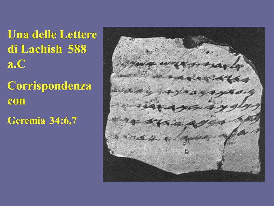 Una delle Lettere di Lachish 588 a.C