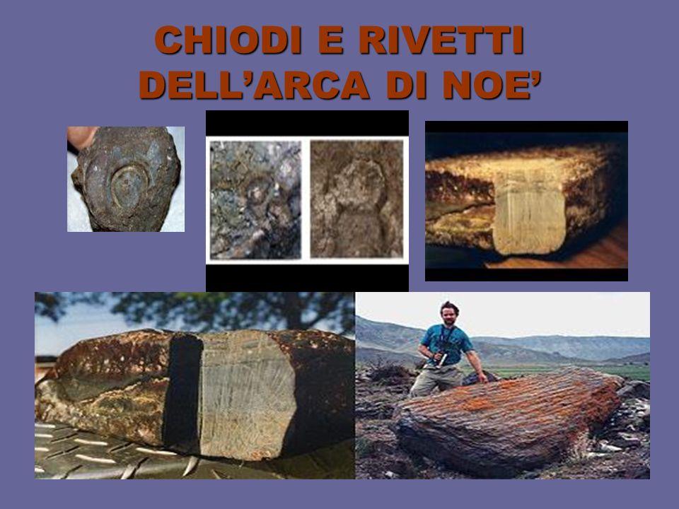 CHIODI E RIVETTI DELL'ARCA DI NOE'