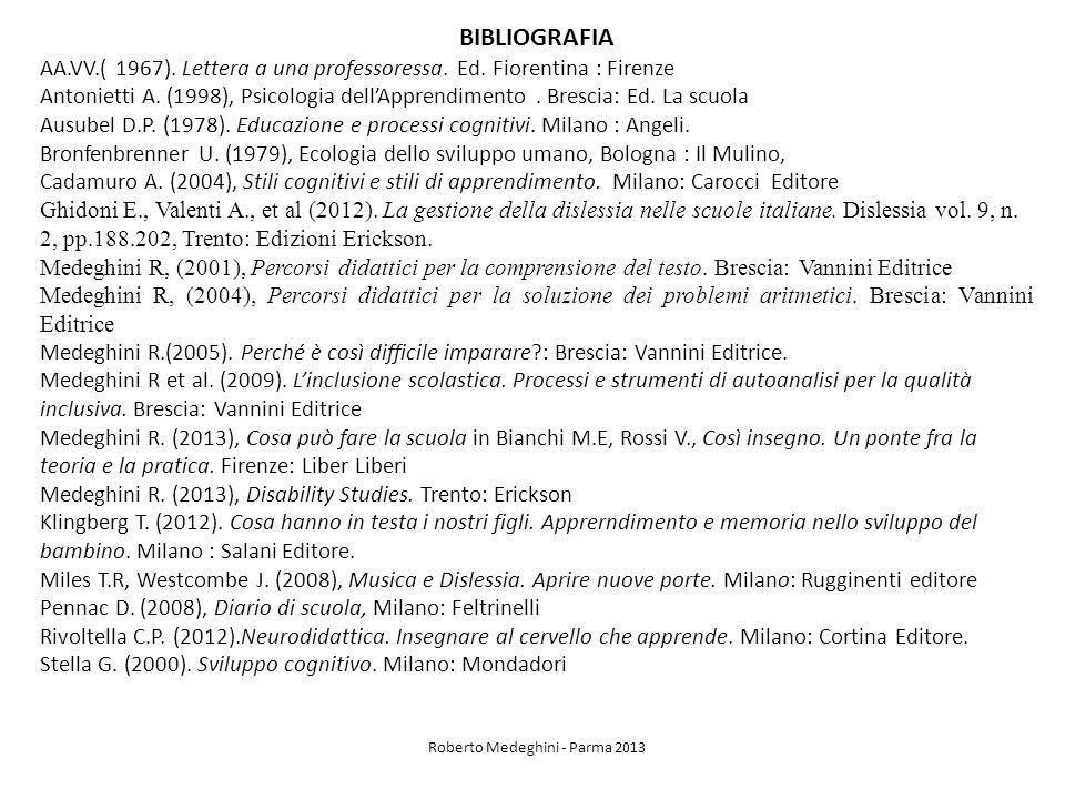 Roberto Medeghini - Parma 2013