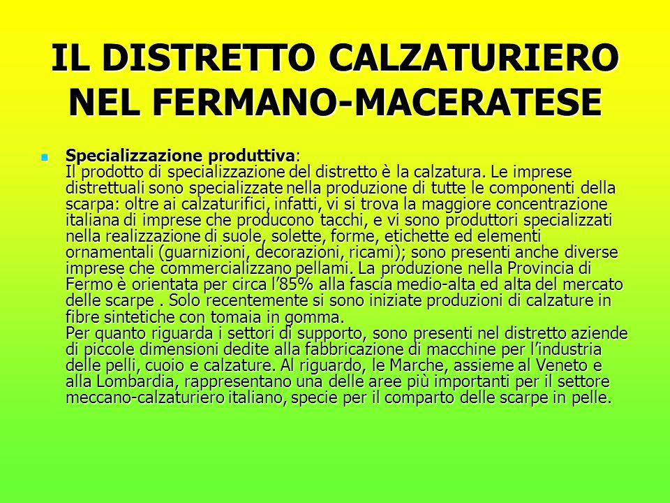 IL DISTRETTO CALZATURIERO NEL FERMANO-MACERATESE