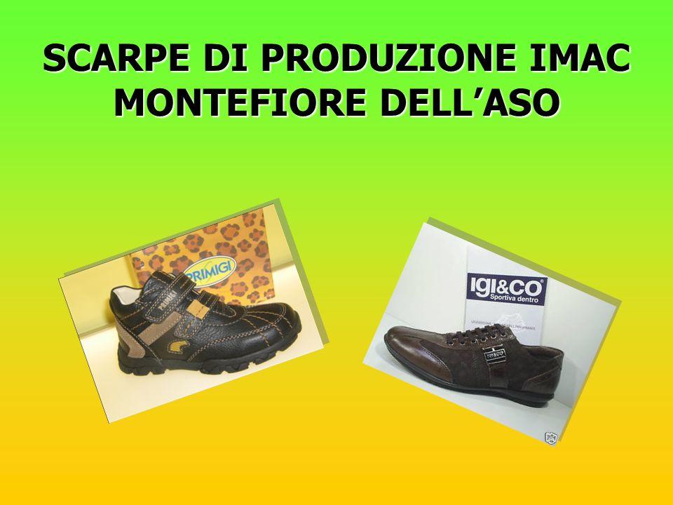 SCARPE DI PRODUZIONE IMAC MONTEFIORE DELL'ASO