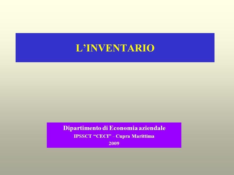 Dipartimento di Economia aziendale IPSSCT CECI - Cupra Marittima