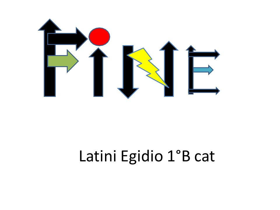 Latini Egidio 1°B cat