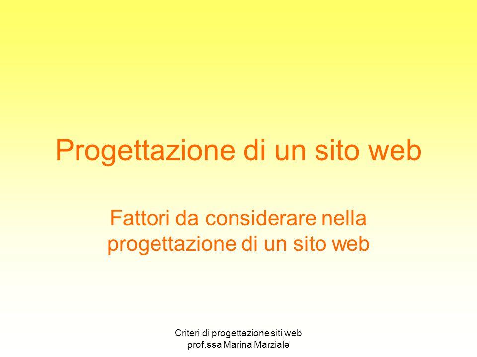 Progettazione di un sito web
