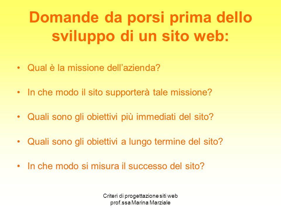 Domande da porsi prima dello sviluppo di un sito web: