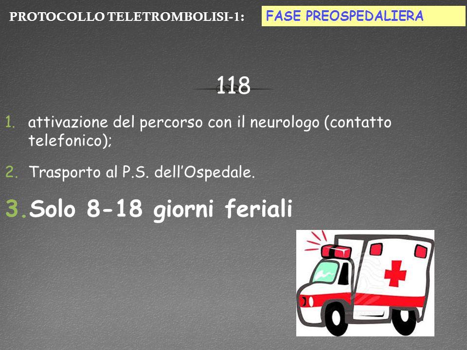 PROTOCOLLO TELETROMBOLISI-1: