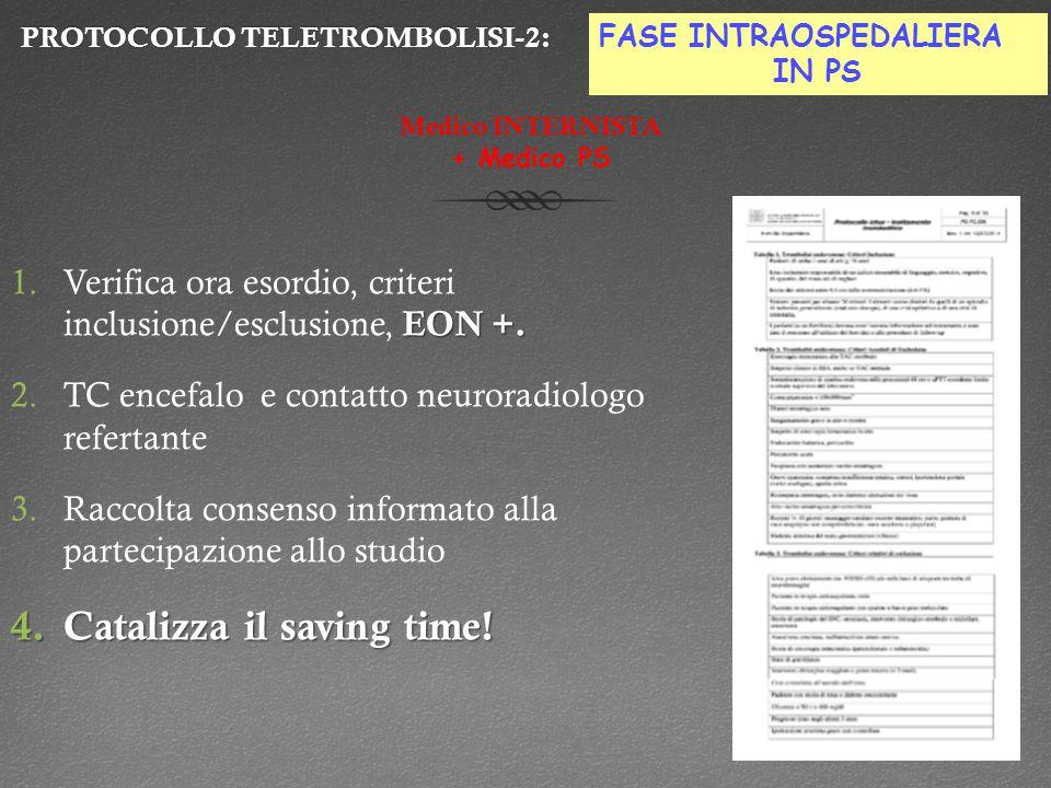 PROTOCOLLO TELETROMBOLISI-2: