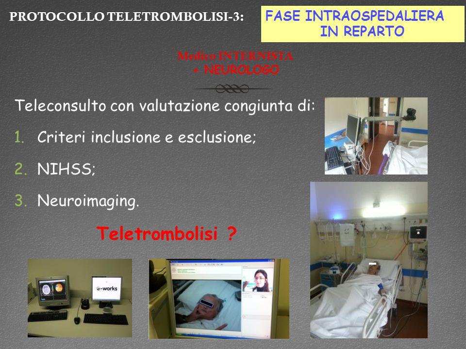 PROTOCOLLO TELETROMBOLISI-3: