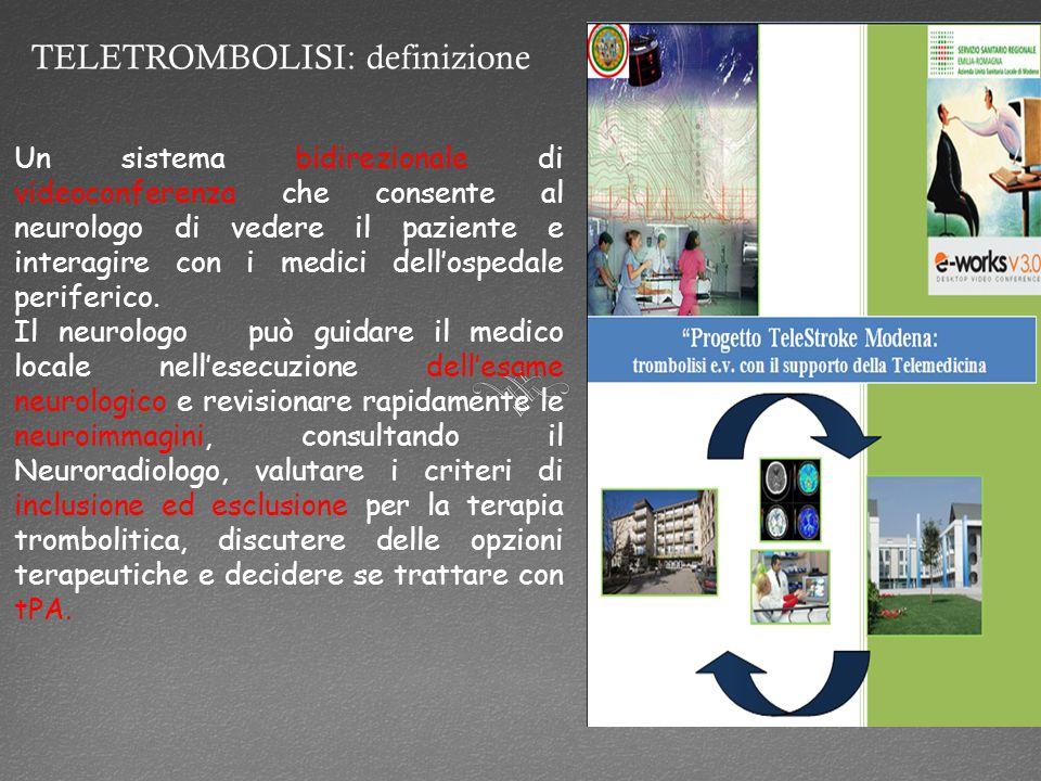 TELETROMBOLISI: definizione