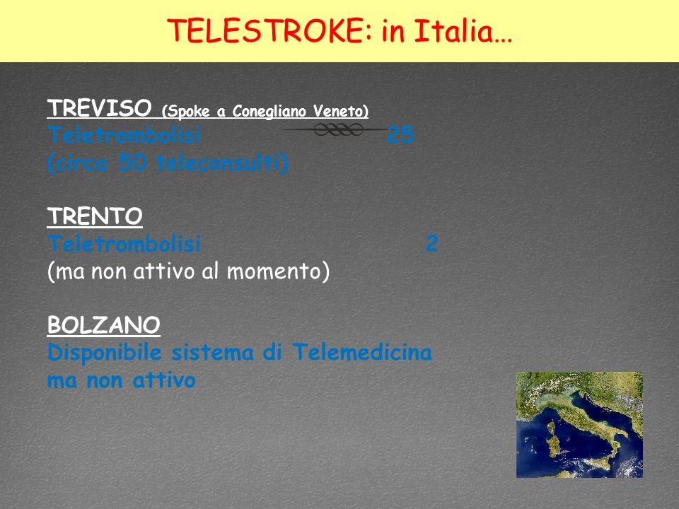 TELESTROKE: in Italia…
