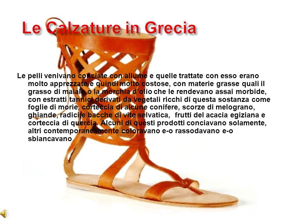 Le Calzature in Grecia