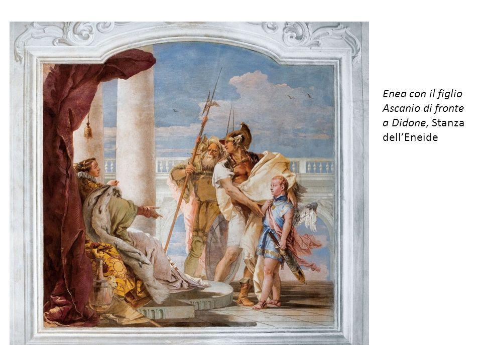 Enea con il figlio Ascanio di fronte a Didone, Stanza dell'Eneide