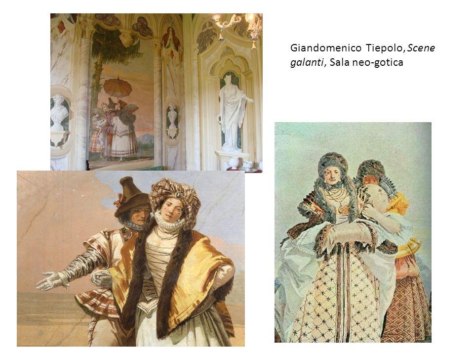 Giandomenico Tiepolo, Scene galanti, Sala neo-gotica