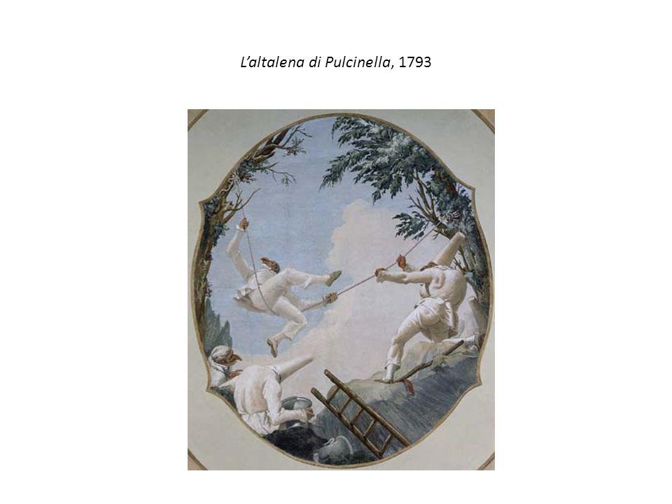 L'altalena di Pulcinella, 1793