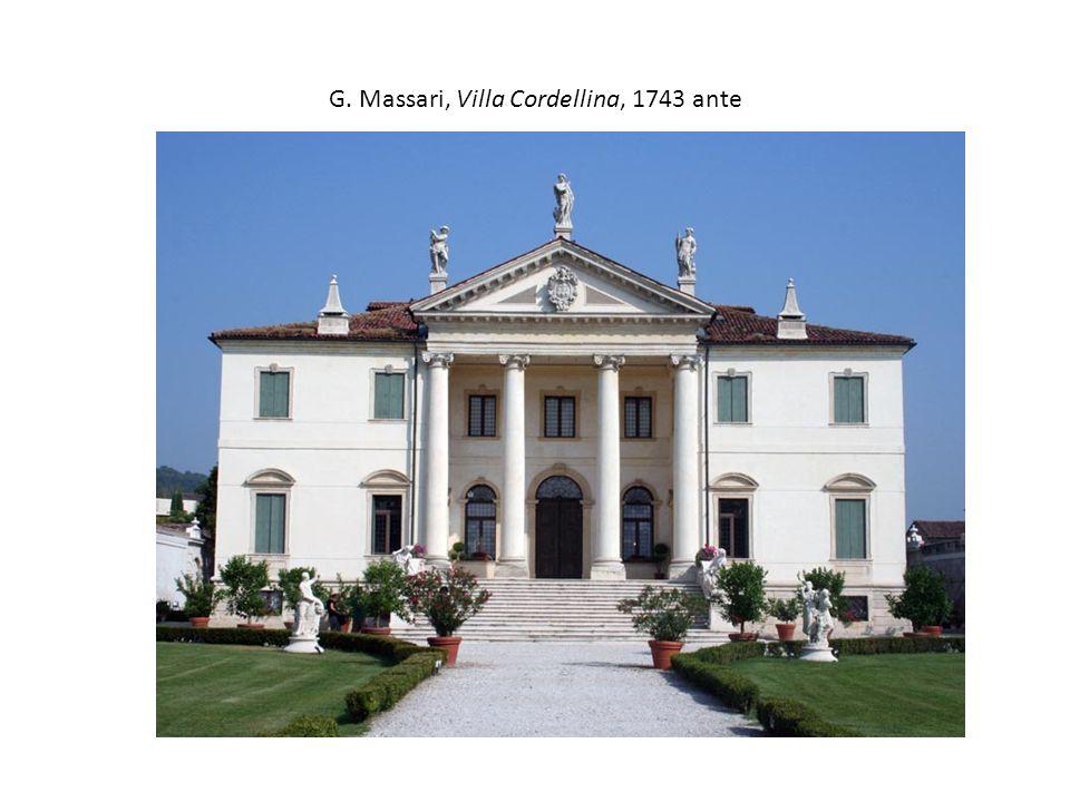 G. Massari, Villa Cordellina, 1743 ante