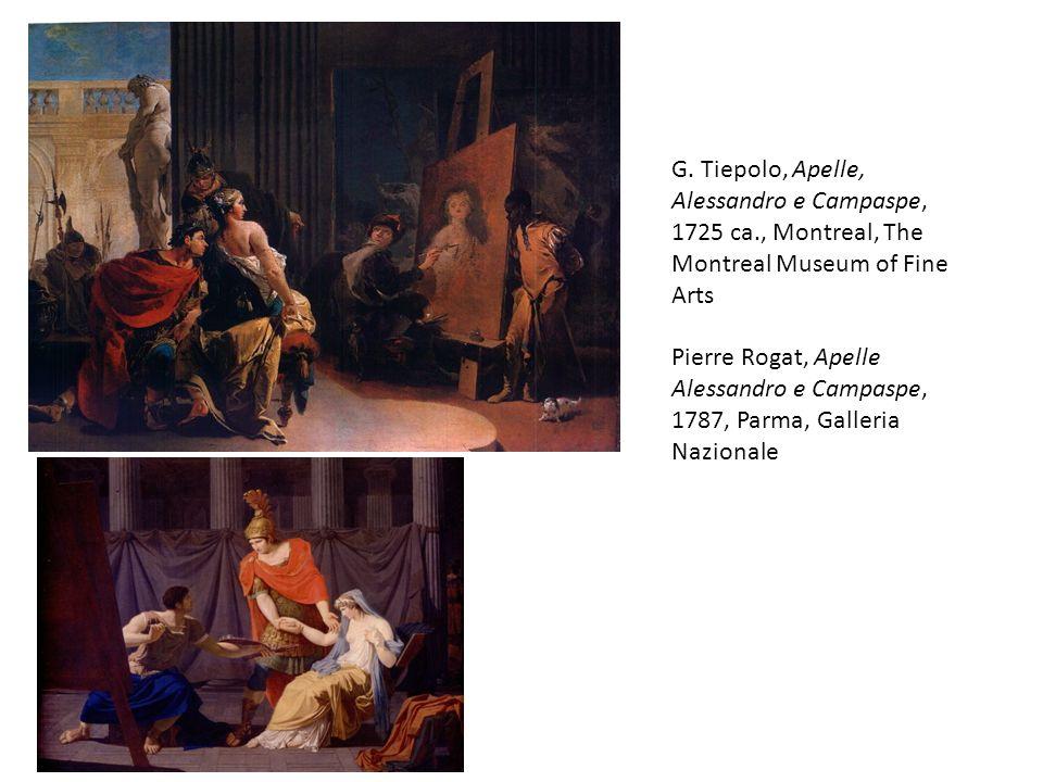 G. Tiepolo, Apelle, Alessandro e Campaspe, 1725 ca