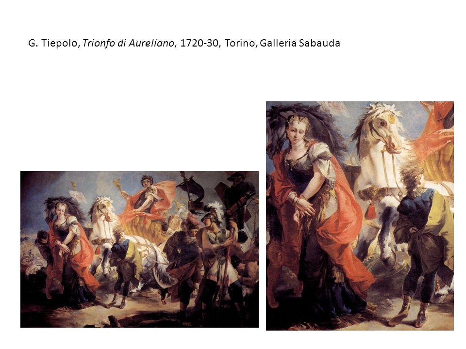 G. Tiepolo, Trionfo di Aureliano, 1720-30, Torino, Galleria Sabauda