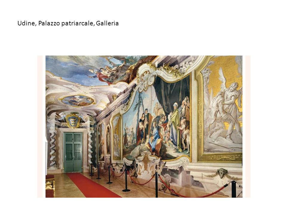 Udine, Palazzo patriarcale, Galleria