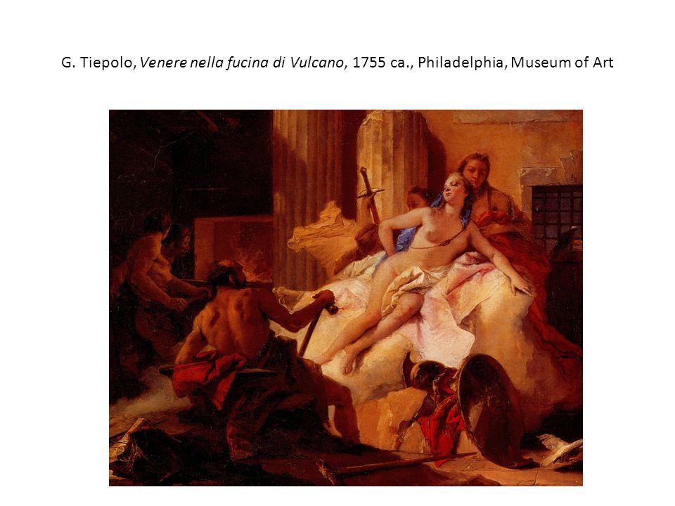 G. Tiepolo, Venere nella fucina di Vulcano, 1755 ca