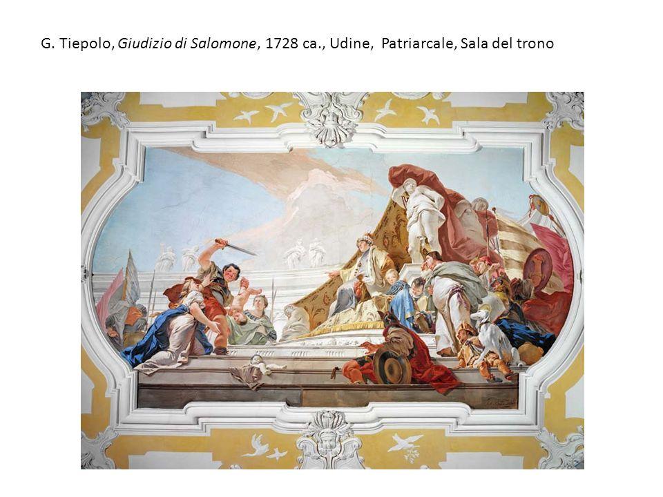G. Tiepolo, Giudizio di Salomone, 1728 ca