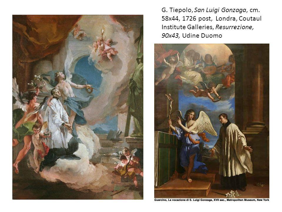 G. Tiepolo, San Luigi Gonzaga, cm