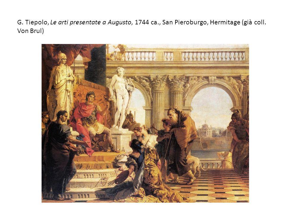 G. Tiepolo, Le arti presentate a Augusto, 1744 ca