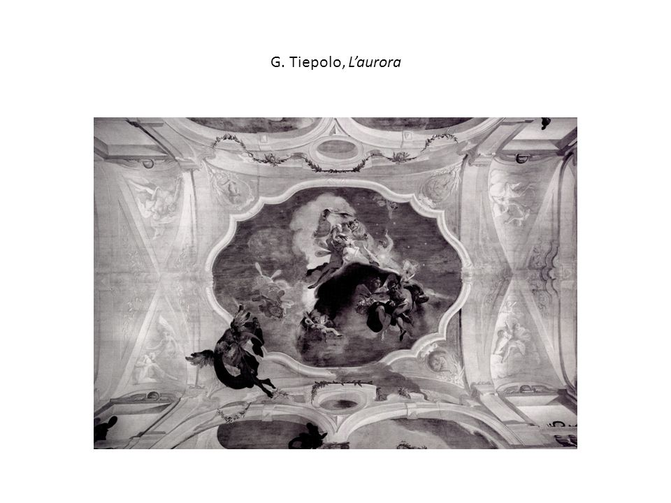 G. Tiepolo, L'aurora